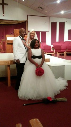 David's Bridal Flower Girl/Jr Bridesmaids dress for Sale in West Valley City, UT