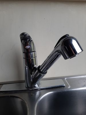 Kitchen faucet(Moen) +sink+disposal for Sale in Galloway, OH