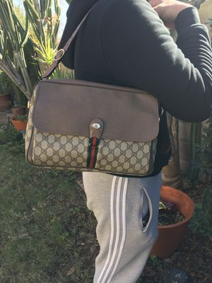Authentic Vintage Gucci Accessory Collection School Bag W/ Dust Bag for Sale in Glendale, AZ