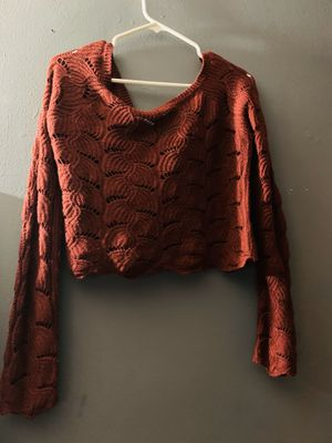 Burgundy crop top for Sale in Paramount, CA