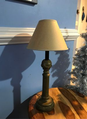 Gold lamp with energy saving bulb 💡 Free w/purchase for Sale in NEW CARROLLTN, MD