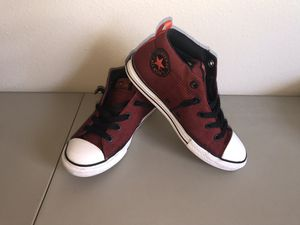 Converse Red AllStar Boys Size 4 US for Sale in Vancouver, WA