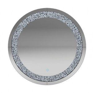 Silver Round Wall Mirror 961525 for Sale in Pompano Beach, FL