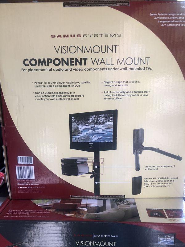Visionmount component wall mount lot of 4
