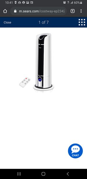 NEW 6L Cool Mist Humidifier Air Diffuser for Sale in Riverside, CA