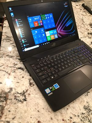 """ASUS 15.6"""" Republic of Gamers STRIX GL503VD Gaming Laptop for Sale in Potomac, MD"""