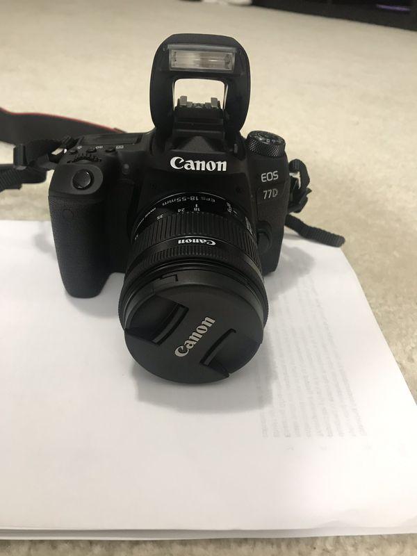 Canon EOS 77D DSLR (EF 18-55IS STM)