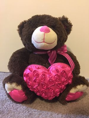 valentine's day bear for Sale in Davis, CA