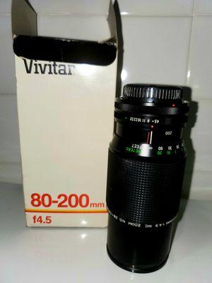 Vivitar 80 To 200mm Auto Zoom Camera Lens for Sale in Woodbridge, VA