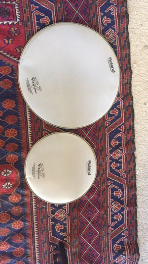 Mesh heads for electronic drums for Sale in Fairfax, VA