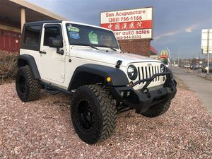2009 Jeep Wrangler for Sale in Denver, CO