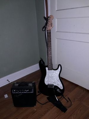 Fender squire with extras for Sale in Murfreesboro, TN