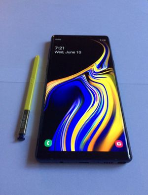 Samsung Galaxy note 9 for Sale in West Sacramento, CA