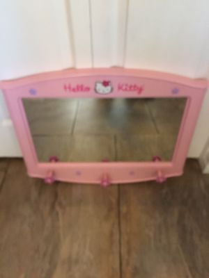 Hello kitty wall mirror for Sale in Glendale, AZ