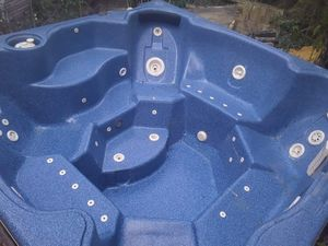 8 person hot tub . exact model still in production sells for over 8,000 for Sale in Grand Prairie, TX