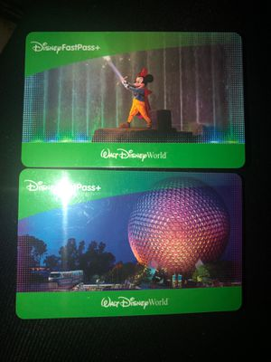 Disney 1 day passes (1 theme park) for Sale in Tampa, FL