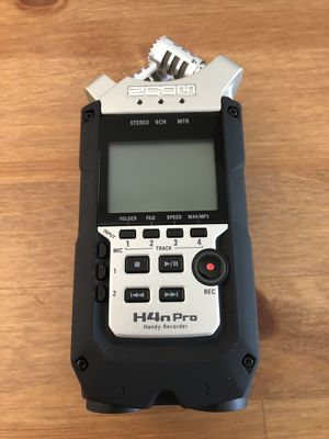Zoom H4N Pro Audio Field Recorder for Sale in Chula Vista, CA