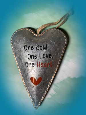 Wall Hanging Galvanized Heart for Sale in Dayton, ME