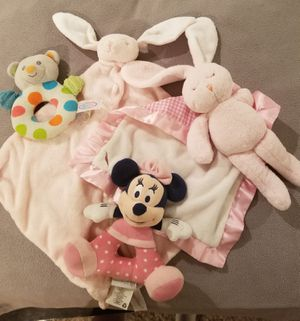 Baby Blankets, Rattles/ Stuffed animals for Sale in Las Vegas, NV