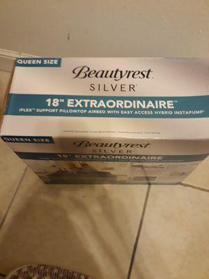 """Air matress Queen size Beautyrest 18"""" for Sale in Miramar, FL"""