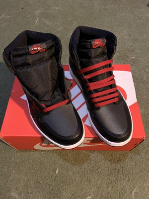 "Nike air Jordan retro 1 high OG ""black satin"" for Sale in Columbus, OH"