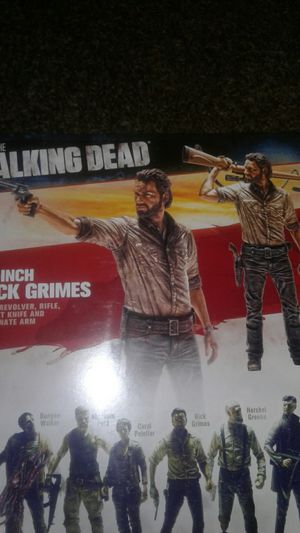 "McFarlane Toys ... Walking Dead 10"" RICK GRIMES deluxe action figure for Sale in Stockton, CA"