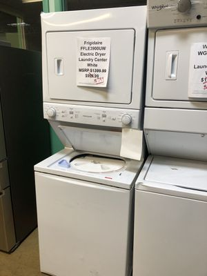 Frigidaire electric laundry center with manufacturers warranty for Sale in Chicago, IL