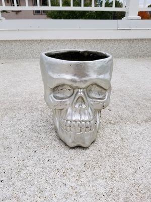 Skull flower pot for Sale in Minneapolis, MN