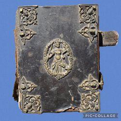 EXTREMELY RARE BINDING & BIBLE~1661/1662 Thick Quarto Mainz Bible. for Sale in El Dorado Hills,  CA