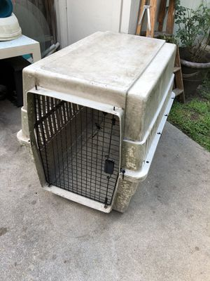Dog crate- large- for Sale in Katy, TX