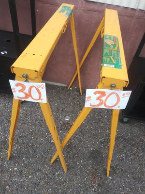 HEAVY DUTY SAWHORSES for Sale in Brownsville, TX