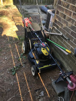 Lawnmower and weed whacker for Sale in Annandale, VA