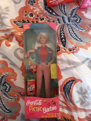 Coca cola pinic barbie for Sale in Gaithersburg, MD