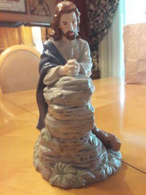 Ornate Procelin statue of Jesus Christ for Sale in Dover, FL