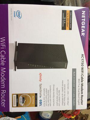 NETGEAR AC 1750 WiFi router for Sale in Aldie, VA