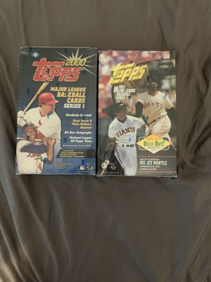 2000 and 1997 topps now baseball cards for Sale in Oceanside, NY