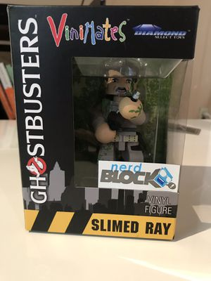 """NEW Ghostbusters Slimed Ray 4"""" Vinyl Figure for Sale in Watertown, MA"""
