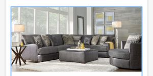 Rooms to Go sectional with Ottoman for Sale in Vancleave, MS