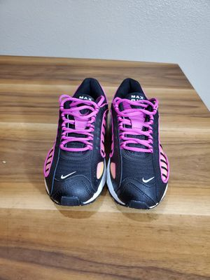 Nike Air Max Tailwind IV Women's Black White Fire Pink Lifestyle Sneakers Shoes Size 8 for Sale in Montclair, CA