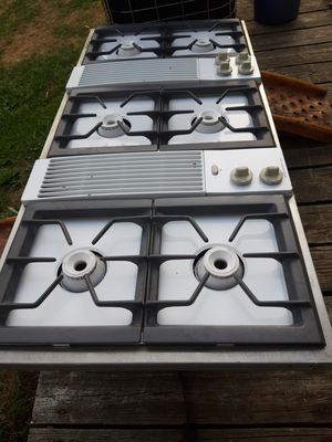 """Jenn-air 46""""gas cooktop stove for Sale in STNDG STONE, WV"""