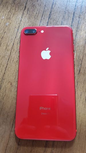 Iphone 8 plus rojo T- Mobile for Sale in Los Angeles, CA