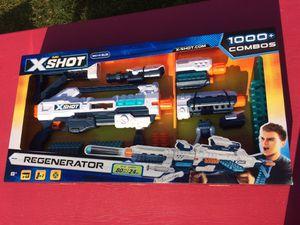 Zuru X Shot Regenerator - Toy Nerf Gun 48 Darts xshot for Sale in Chicago, IL
