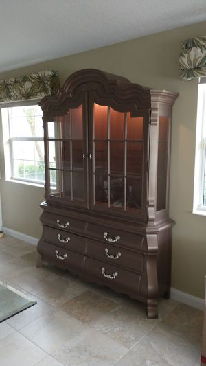 Drexel antique China cabinet for Sale in GRANT VLKRIA, FL