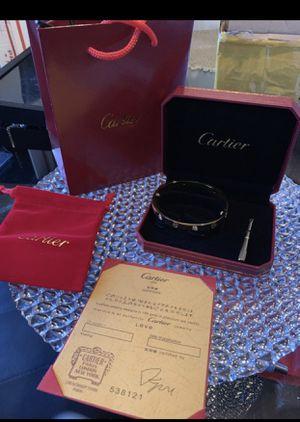 Cartier bracelet for Sale in Cedar Hill, TX