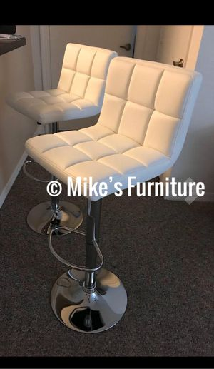 New 2 white stools $50 each for Sale in Orlando, FL