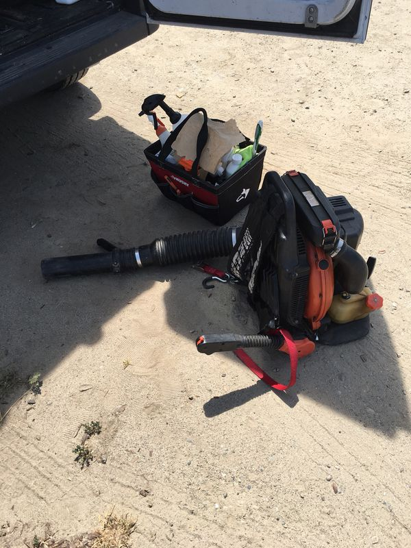 Echo backpack blower