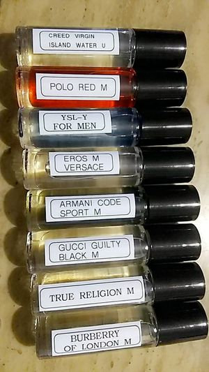 New roll on oil-based perfumes and colognes 10 ml for Sale in Magna, UT
