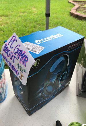 Brand new PC GAMER HEADSET for Sale in Houston, TX