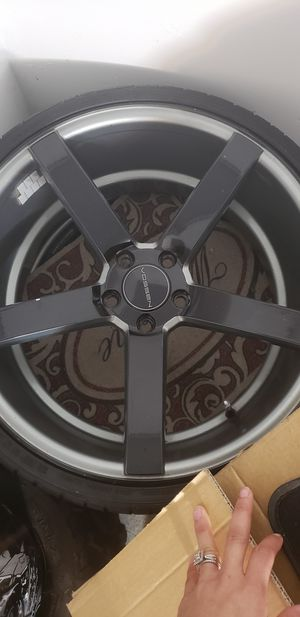 Vossen Custom painted 20x 8.5 front 20x10 back for Sale in Miramar, FL