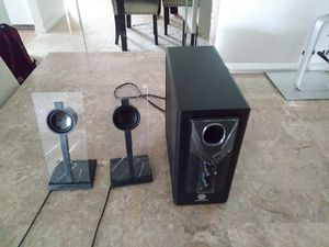 Computer speakers with led lights for Sale in Palatine, IL